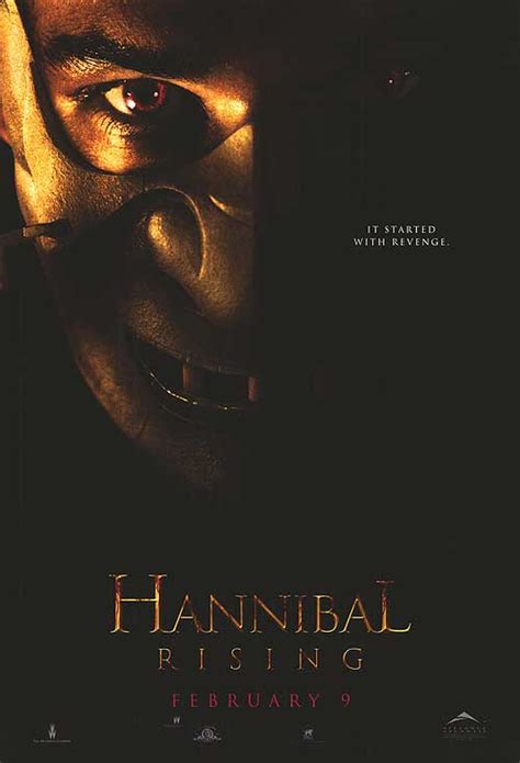 hannibal rising  posters   poster warehouse