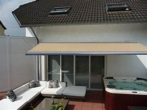 beige markisen und weitere gartenausstattung gunstig With markise balkon mit tapeten online günstig