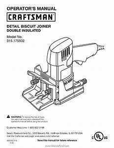 Craftsman 17550