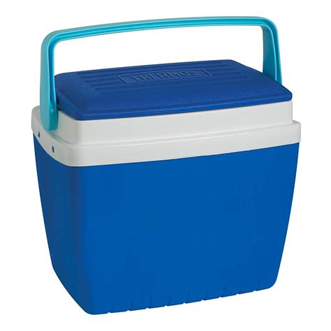 storage container with lid thermos 28 l portable drinks food cool cooling box