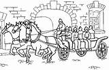 Carriage Coloring Pages sketch template