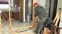 removing a wall How To Remove a Non-Load Bearing Wall - YouTube