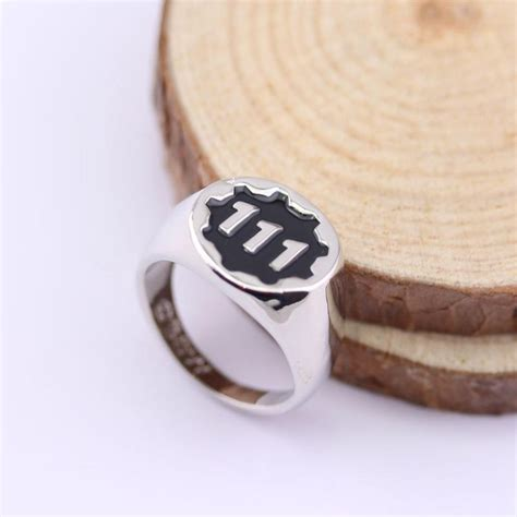 hot sell new game fallout 4 vault boy 111 logo rings new