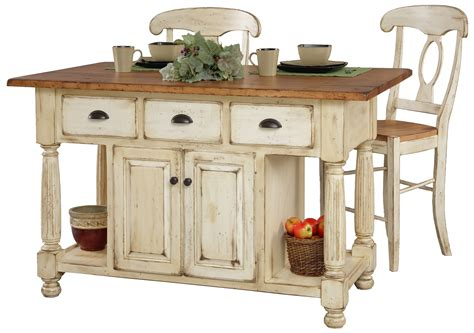 French Country Kitchen Island Table