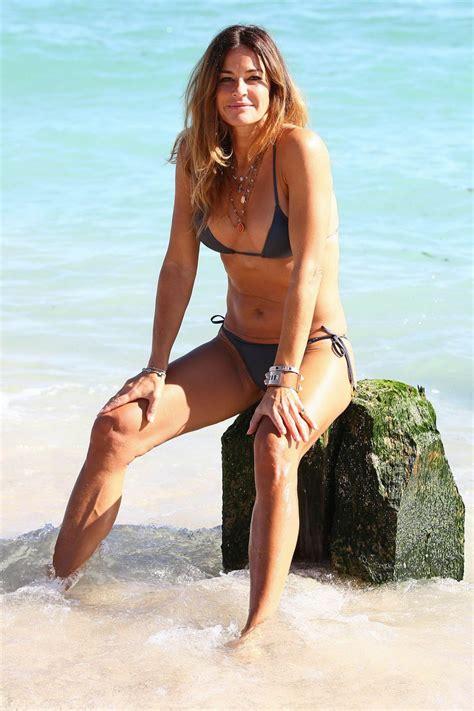 kelly bensimon hot  bikini beach  miami january