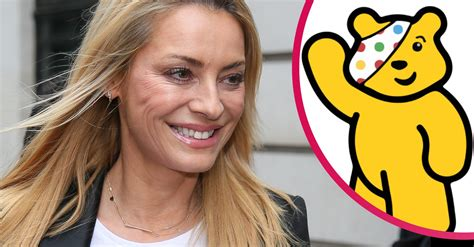 Tess Daly announces the departure of Children In Need ...