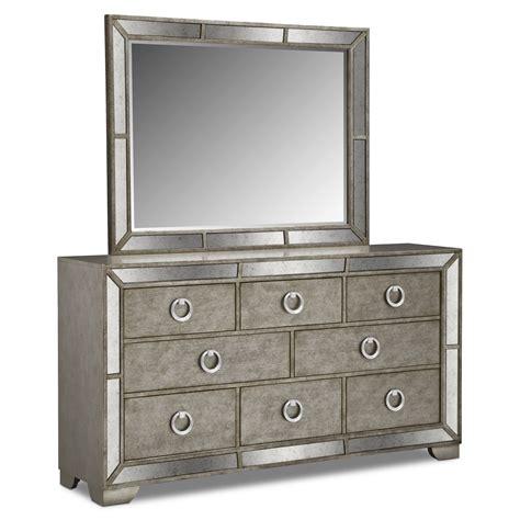 king bed furniture set dresser mirror value city furniture