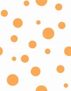 Orange Polka Dots Clip Art at Clker.com - vector clip art ...