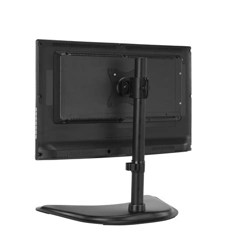 Monitor Stands For Desk Uk by Vonhaus Single Monitor Mount Desk Stand For 13 27 Screen