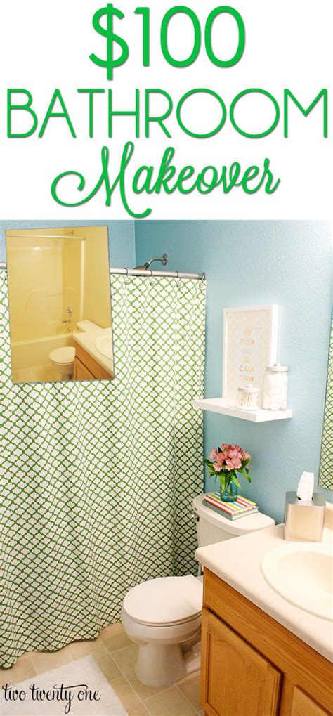 Budget Bathroom Makeovers  Before And After • The Budget