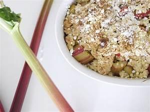 Rezept Rhabarber Crumble : oh so yummy rezept f r rhabarber crumble oh wunderbar ~ Lizthompson.info Haus und Dekorationen