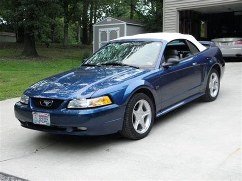 2000 Ford Mustang Conv by Sell Used 2000 Mustang Gt Conv Blue White Top 5 Speed