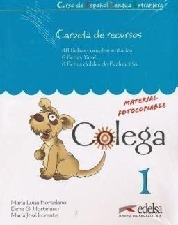 Colega 1 Libro del alumno + Libro de ejercicios + CD audio ...