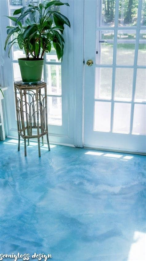 Affordable DIY Stained Concrete Floors, Step by Step Tutorial