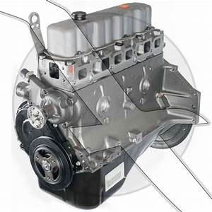 3 0l Base Engine New Gm Longblock 181 Mercruiser  Volvo