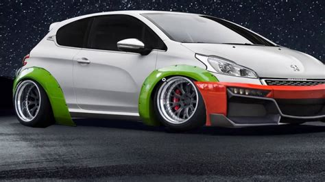 peugeot 208 gti tuning tuning peugeot 208 gti photoshop