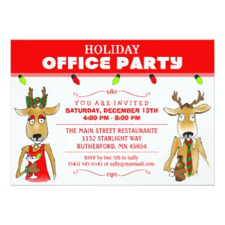 office holiday party invitations 5 000 office holiday party invites announcements zazzle uk