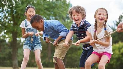 Playing Outside Children Household Energy