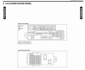 2012 Subaru Outback Fuse Box Diagram
