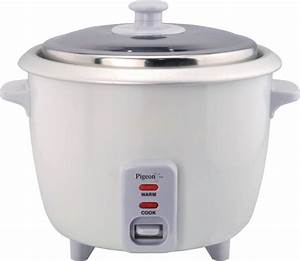 Pigeon Favourite Electric Rice Cooker With Steaming Feature Price In India