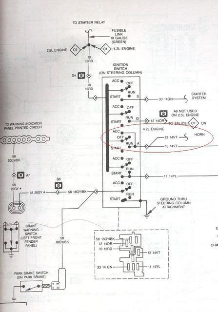 Jeep Ignition Switch Wiring Diagram 1995 by 89 Jeep Yj Wiring Diagram Jeep Wrangler Yj