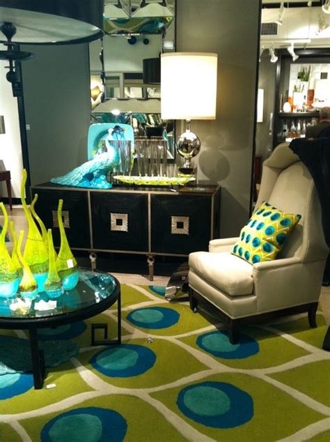 Peacock Decorating Ideas For Living Room by Design Soup