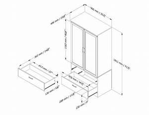 5350038-plan jpg (2200×1700) Armoire Pinterest Armoires