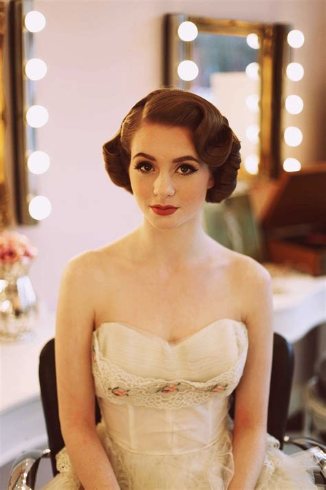 1950s Wedding Hairstyles by 1950 S Fashion For The Modern Something