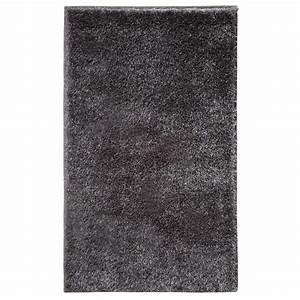 tapis de salle de bain de luxe gris anthracite With tapis de bain de luxe