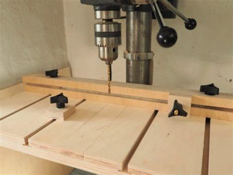 shop projects diy montreal   drill press table