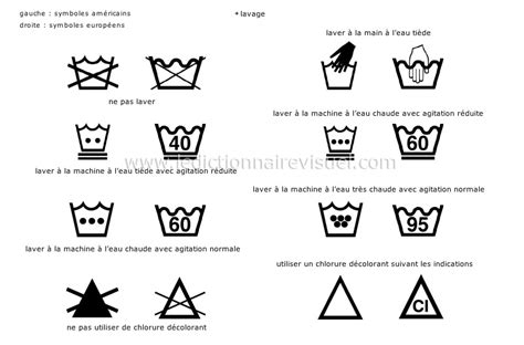 symboles d entretien des tissus la plupart des v 234 tements comportent des symboles sur une