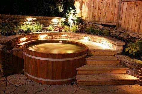 sizzling outdoor hot tubs       plunge    owner builder network