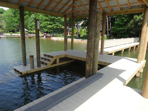Boat Lifts For Sale Lake Norman by Lake Norman Dock Builders Fox Docks Premier Dock