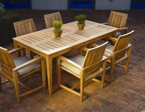 teak patio dining set teak garden furniture  okemos mi