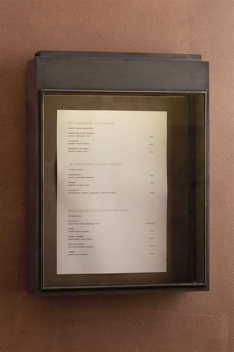 porte menu lumineux exterieur applique mur ext 233 rieur porte menu pour restaurant nautic by tekna luminaires en bronze
