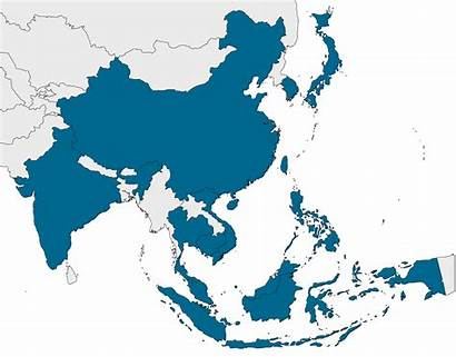 Asia Pacific Map Region Hiv Countries Treat