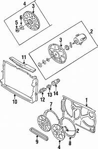 Volkswagen Cabrio Engine Cooling Fan Blade  Cylinder  Wac