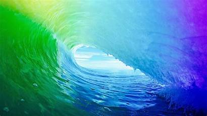 Colorful Water Waves Nature Sea Desktop Backgrounds