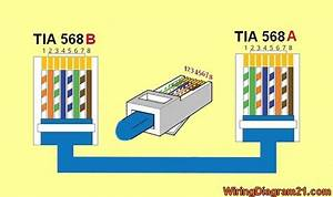 Ethernet Cable Wiring Diagram Cat6