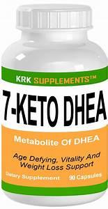 7-keto Dhea 100mg 90 Capsules Krk Supplements
