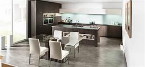 cuisine en l moderne avec ilot en 108 photos magnifiques With modà le de cuisine ouverte