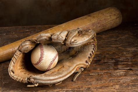 leather baseball glove royalty  stock photography