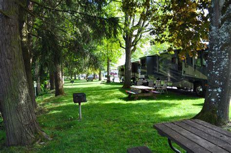shamrock village rv  mhp passport america camping