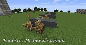 Realistic Medieval Cannon From the 1400s - 1700s