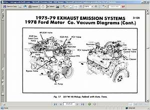 I Need A Vacuum Line Diagram For My 1978 Ford F150  The Truck Has A Motorcraft 2150 And Is