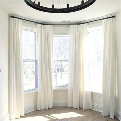 Drapes For Bay Window - bay windows can be a real beast to dress there s always