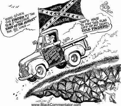 Flag Cartoon Confederate Privilege Male 2004 Discrimination