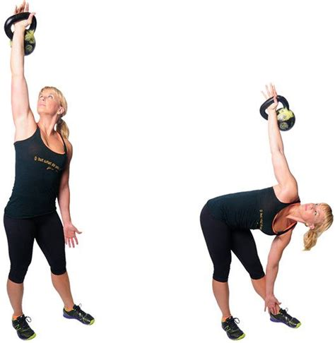 kettlebell windmill core exercises exercise pain workouts muscles kettlebells lower using strengthening overhead hold training indianworkouts