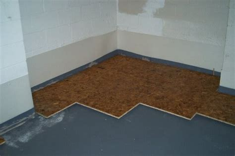 flooring   How do I install carpet tiles in a below grade