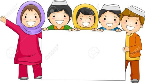 Pencil And In Color Islam Clipart